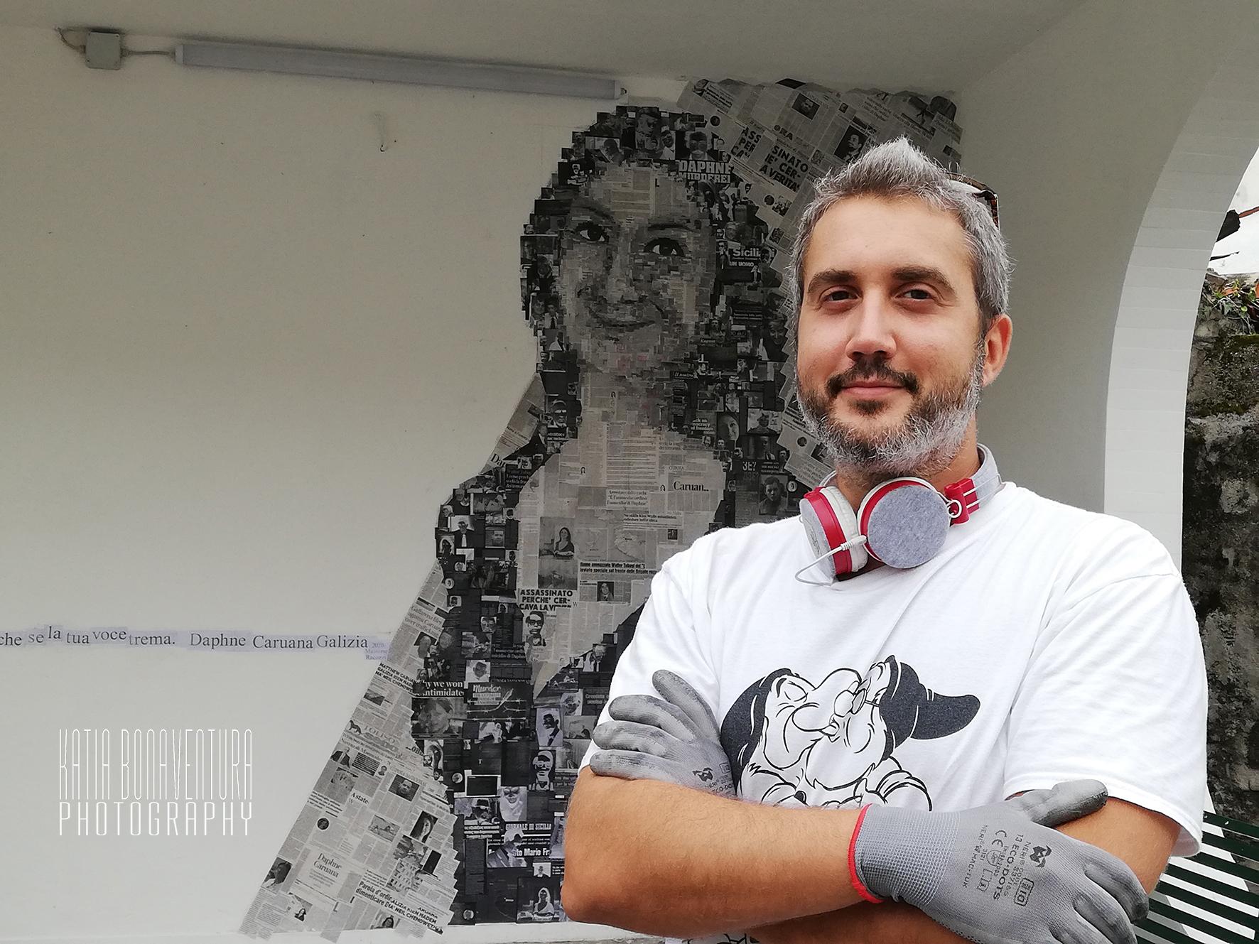 Murales Daphne Caruana Galizia (Ronchi dei Legionari)